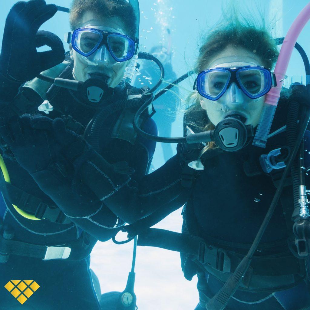 scuba diving canarias